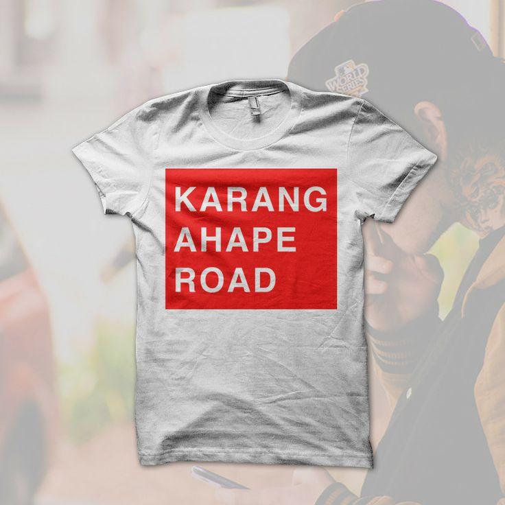 Karangahape Road Shirt from Aucklandia  Inspired by Karangahape Road, Auckland, New Zealand.