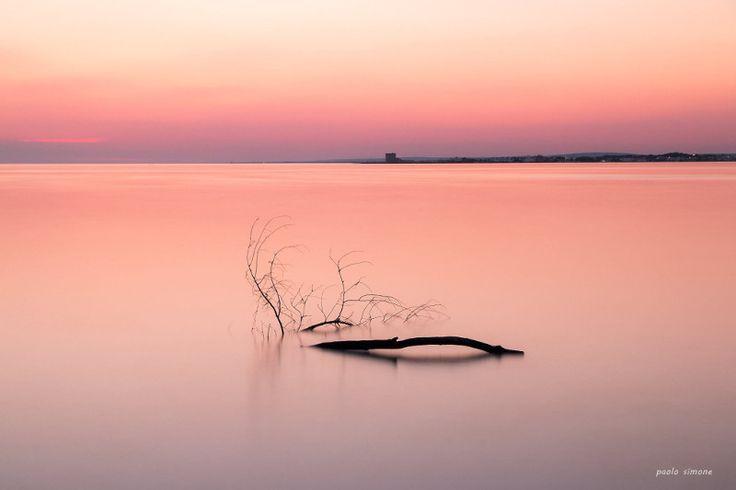 NardòSette - Porto Cesareo, Pennellate di rosa tra mare e cielo: spettacolo a Torre Lapillo