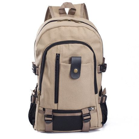 Mochila Masculina Male Fashionable Casual Canvas Backpack Middle School Students School Travel Bag Large Backpack Man Bag 2016