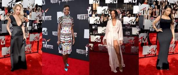 Lupita Nyong'o, Rihanna, Nicki Minaj and Rita Ora Put their Best Foot forward