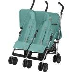 Koelstra Simba Twin T4 Double Buggy jade green - Collection 2016