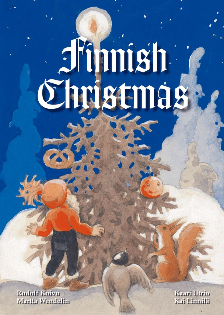 Christmas book by Rudolf Koivu and Martta Wendelin.