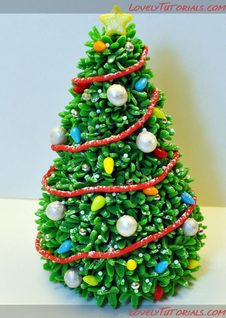 different christmas tree tutorials http://www ...