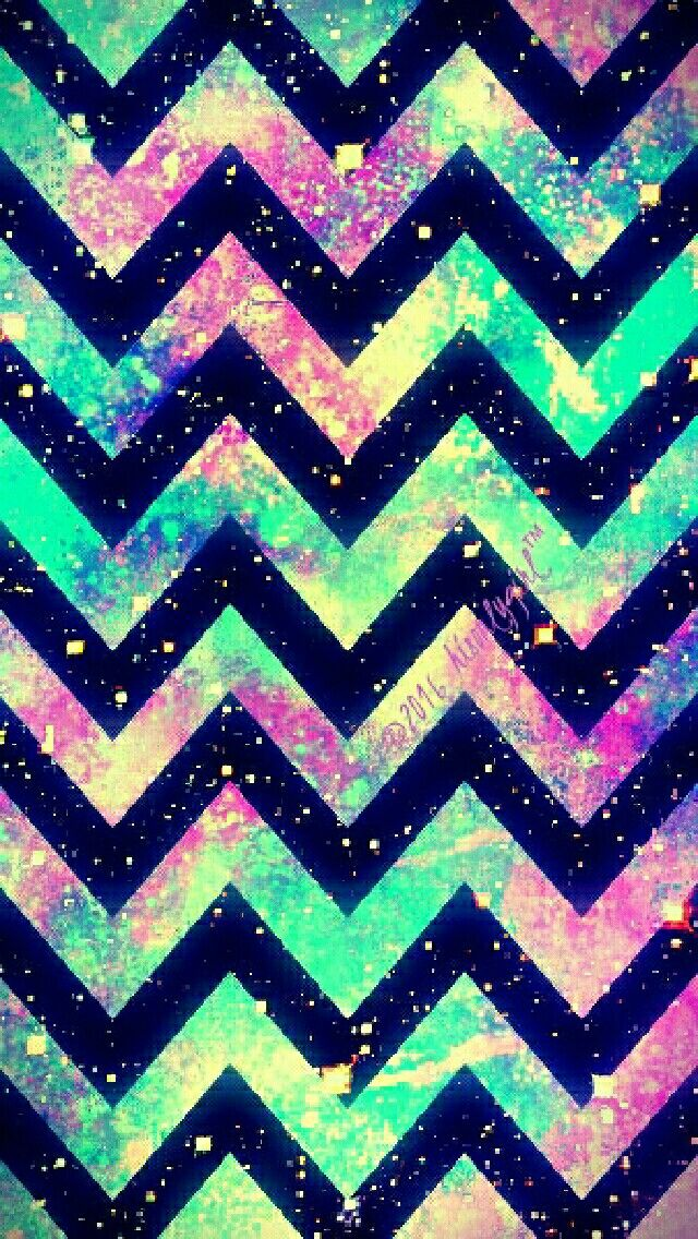 Tribal Chevron galaxy iPhone/Android wallpaper I created for the app CocoPPa! ©2016hisonlygirl™