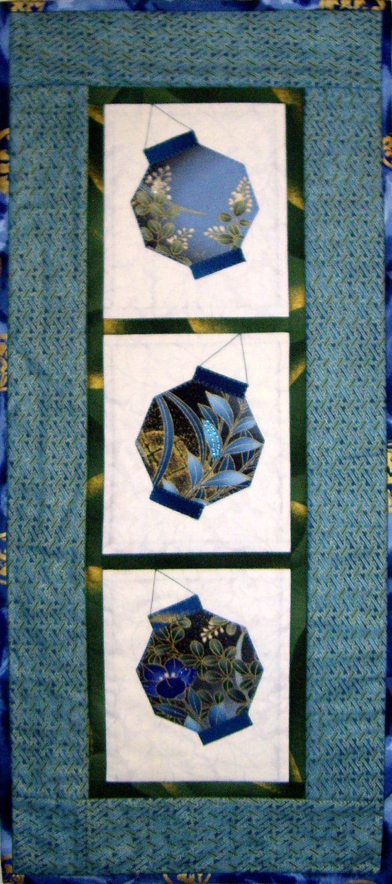 Swaying Lanterns Quilt ePattern 4258-14 by castillejacotton