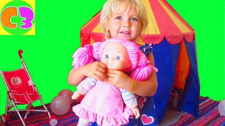 Игрушки Мягкая Кукла Симба Розовые волосы Розовое платье Злата показывает