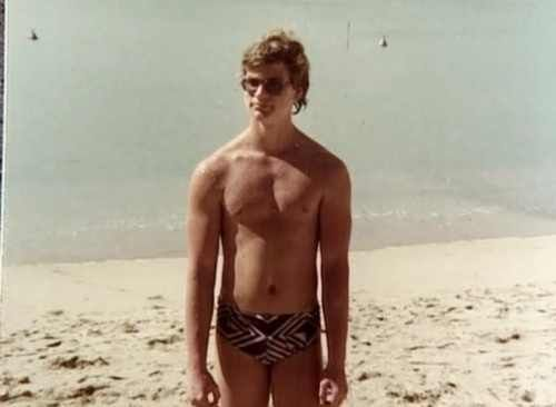 Jeffrey Dahmer having fun in the sun.