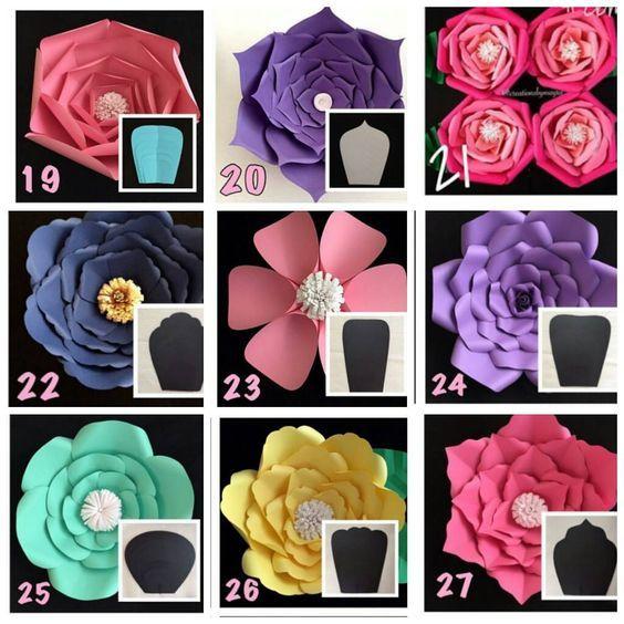 26 mentions J'aime, 1 commentaires – paper flower Almadinah (@paper_flowers123) sur Instagram : «أشكال الورد»