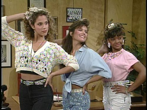 Old School TV Style: Fashion Inspired by Saved by the Bell