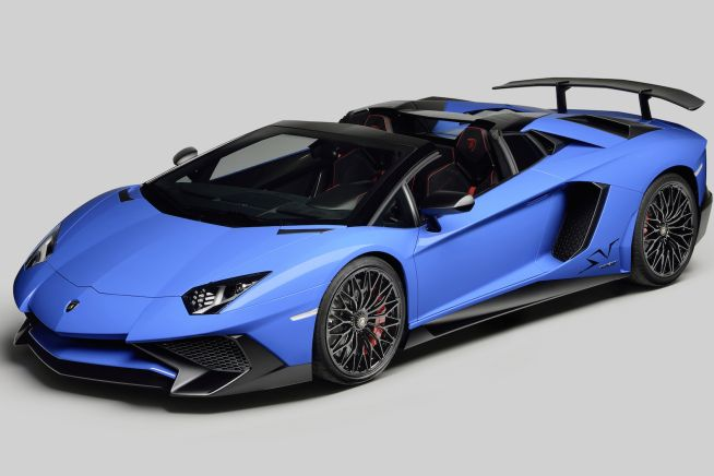 Automobili Lamborghini unveils the new Lamborghini Aventador LP 750-4 Superveloce Roadster in occasion of the Monterey Car week in California. Th
