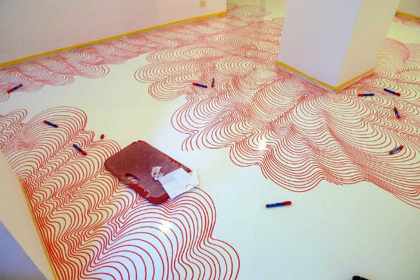 Floor Painting with edding Permanent Markers