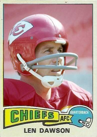 Len Dawson Kansas City Chiefs