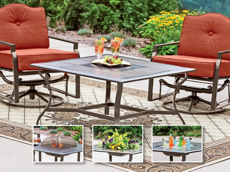 Patio Table Can Be Converted Into Four Different Uses. #shopko