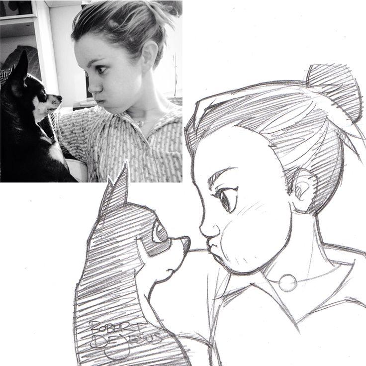 LimitedIQ Sketch by Banzchan.deviantart.com on @deviantART
