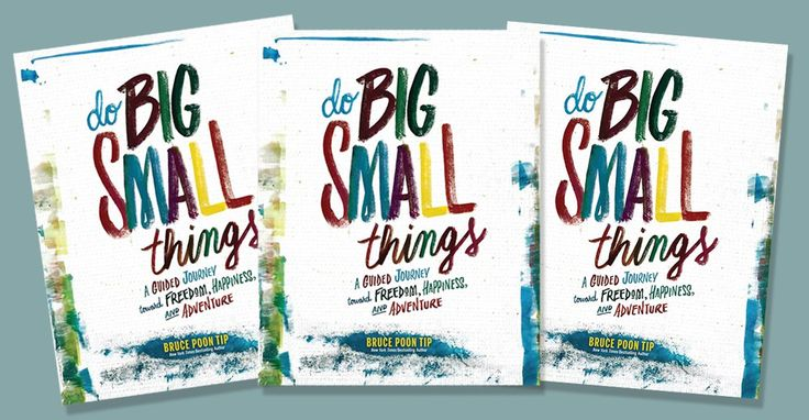 WIN+1+of+10+copies+of++'Do+Big+Small+Things'