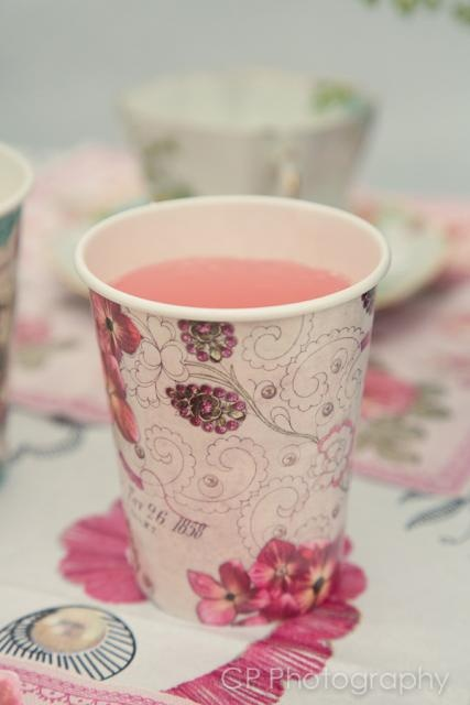 Pink lemonade in vintage inspired pattern cup.  £3.99 from the Fuschia Boutique at www.fuschiadesigns.co.uk.