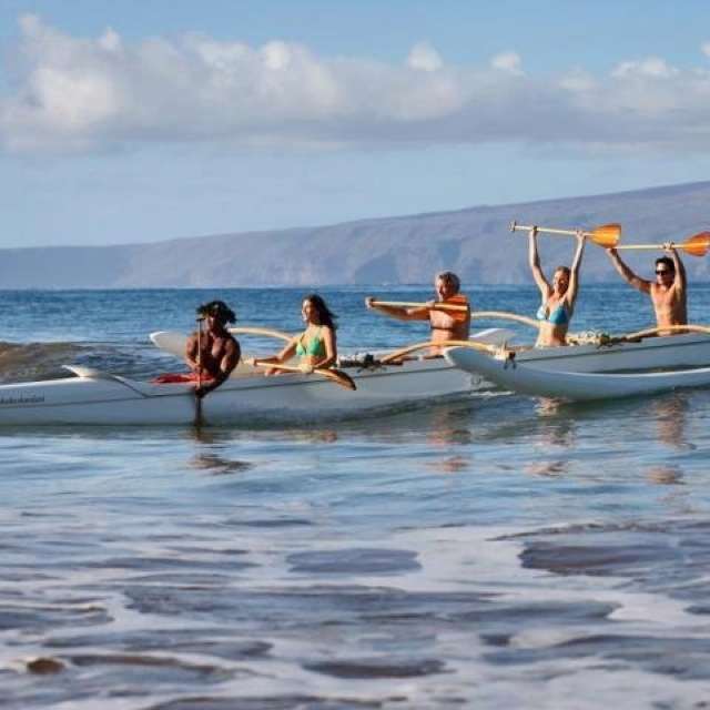 Complimentary canoe trip Book early