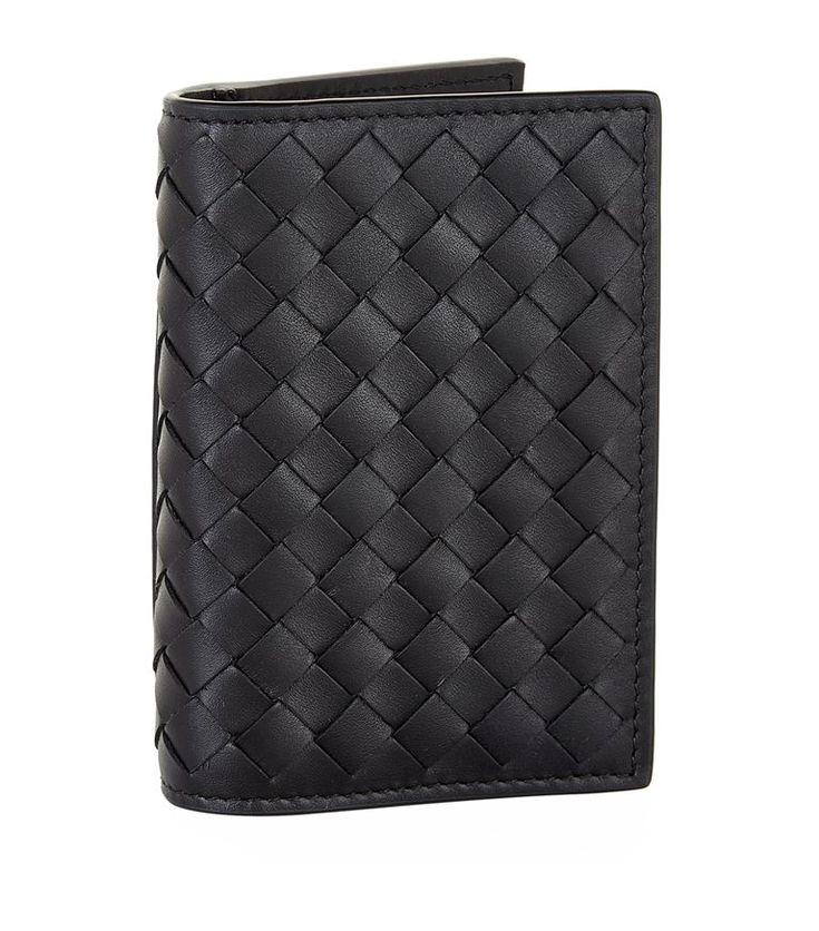 Bottega intrecciato foldable card holder