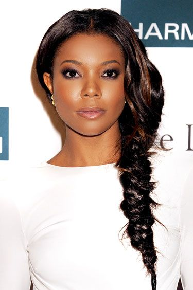 Summer Hair 2012: Sophisticated Twist  Pull a traditional fishtail braid over one shoulder.