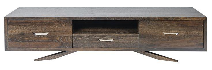 Avila Lowline TV Cabinet Seared Oak -1.6m