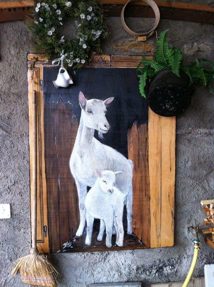 Pittura su legno