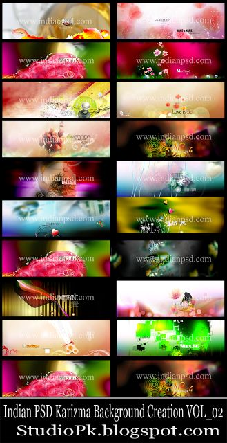 Indian PSD Karizma Background Creation VOL_02