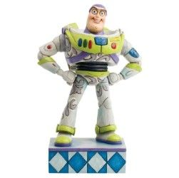 Jim Shore Disney Traditions Buzz Lightyear Figurine, 7-Inch