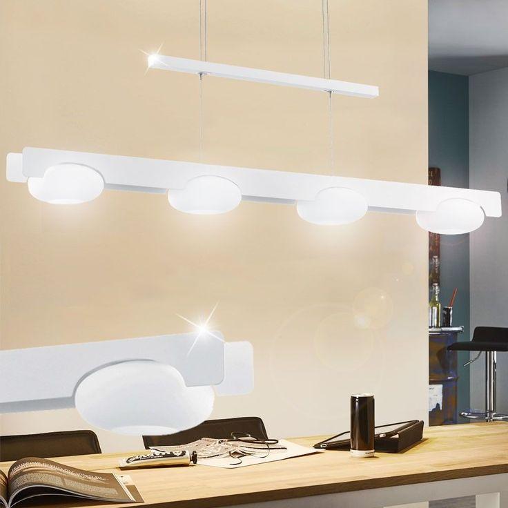 LED 24 Watt Pendel Leuchte Hhen Verstellbar Hnge Lampe Decken 4er Spot Leiste