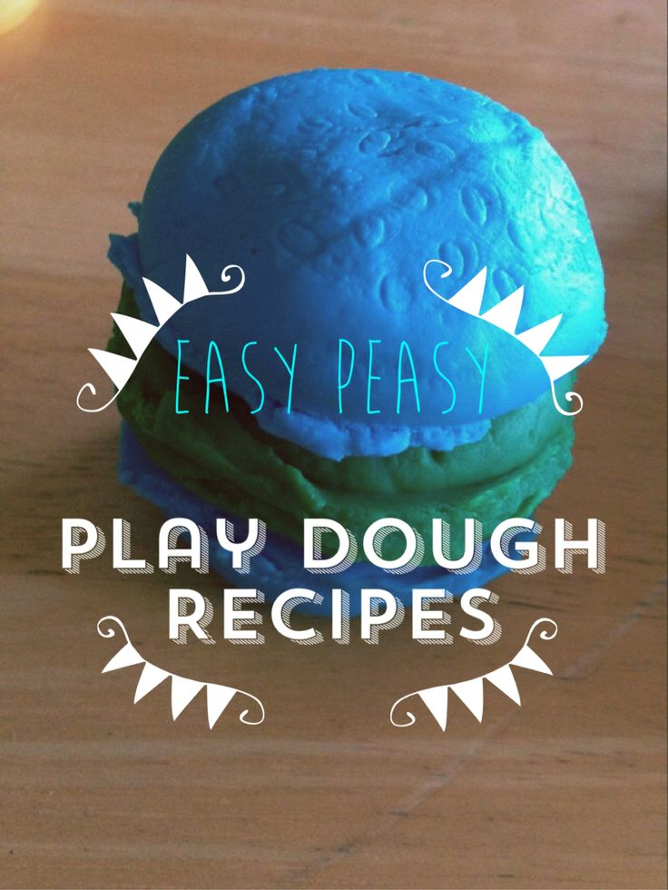 Need a quick, fun Saturday afternoon idea for the kids. How about some homemade play dough? Sounds complicated right? Trust me it doesn't have to be AND most kids LOVE play dough. The possibi…