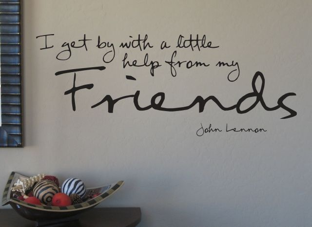 Wall quote.