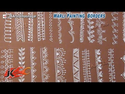 Warli Painting Borders (#1) - JK Arts 547 - YouTube