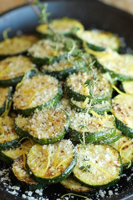 The most amazing zucchini dish made in just 10 min. It's so easy, you'll want to make this every single night!