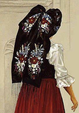 Alsace France folklore costume ......Castroville,Texas