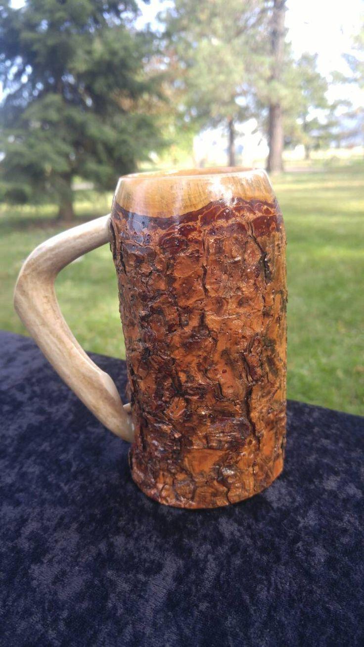 Wooden beer mug, beer stein, tankard, mug, ren fair, sca, larp, game of thrones, rendezvous, man cave, rustic wedding, grooms gift by SilverOakFurniture on Etsy