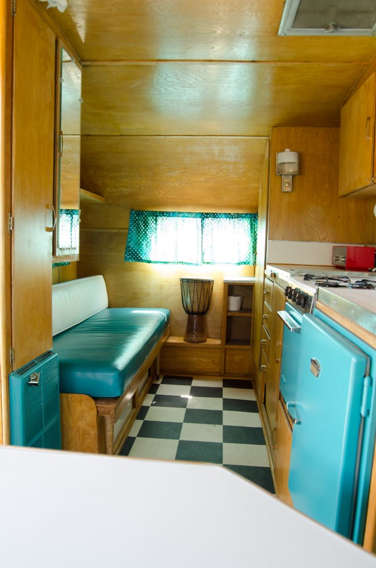 Our 1964 Shasta Airflyte Refinished Interior, March 2014 ...