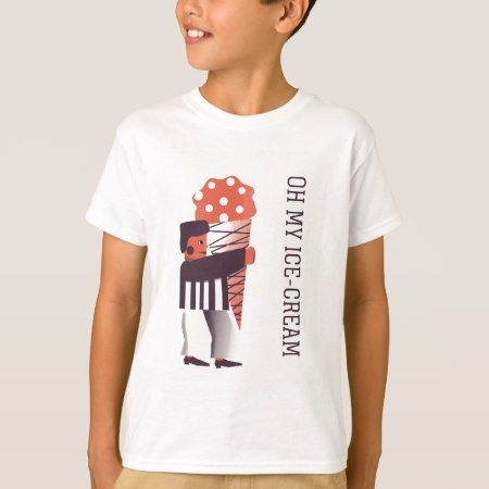 Happy Life- Ice Cream T-Shirt - click to get yours right now!