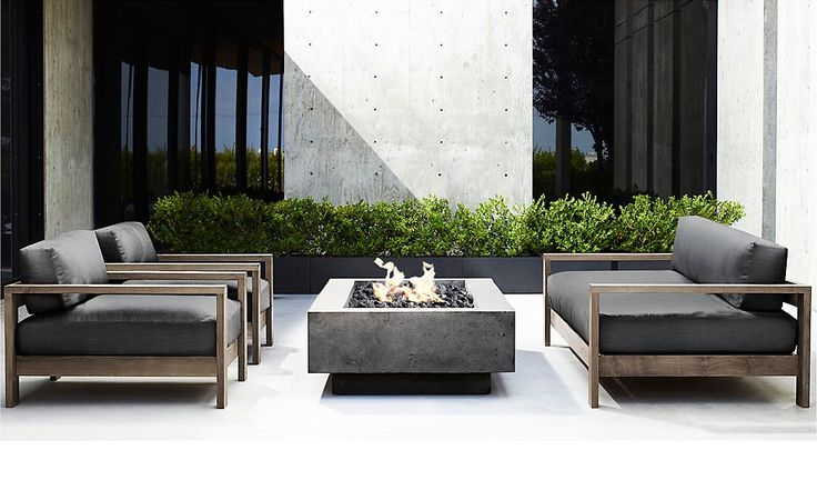 Rooms   RH Modern http://www.uk-rattanfurniture.com/product/garden-furniture-set-sofa-set-outdoor-chairs-and-table-set-lounge-black-patio-terrace-lounge-suite-rattan-look-garden-furniture/