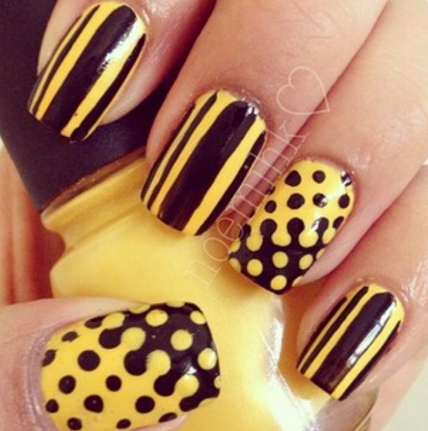 Nail Art Games For Girls Top Star Manicure Salon By Milos: 94 Best Nail Art For The Black N Gold Girl Images On
