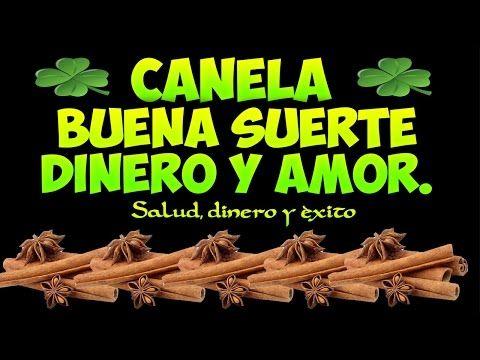 CANELA para ATRAER BUENA SUERTE, DINERO Y AMOR!!! - YouTube