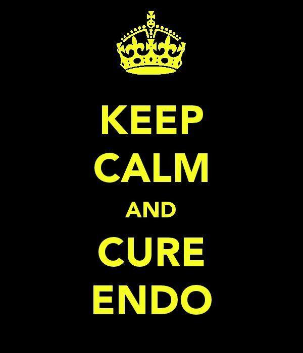 Keep calm and cure endo (now!). #health #endometriosis #chronically_ill #chronic_illness