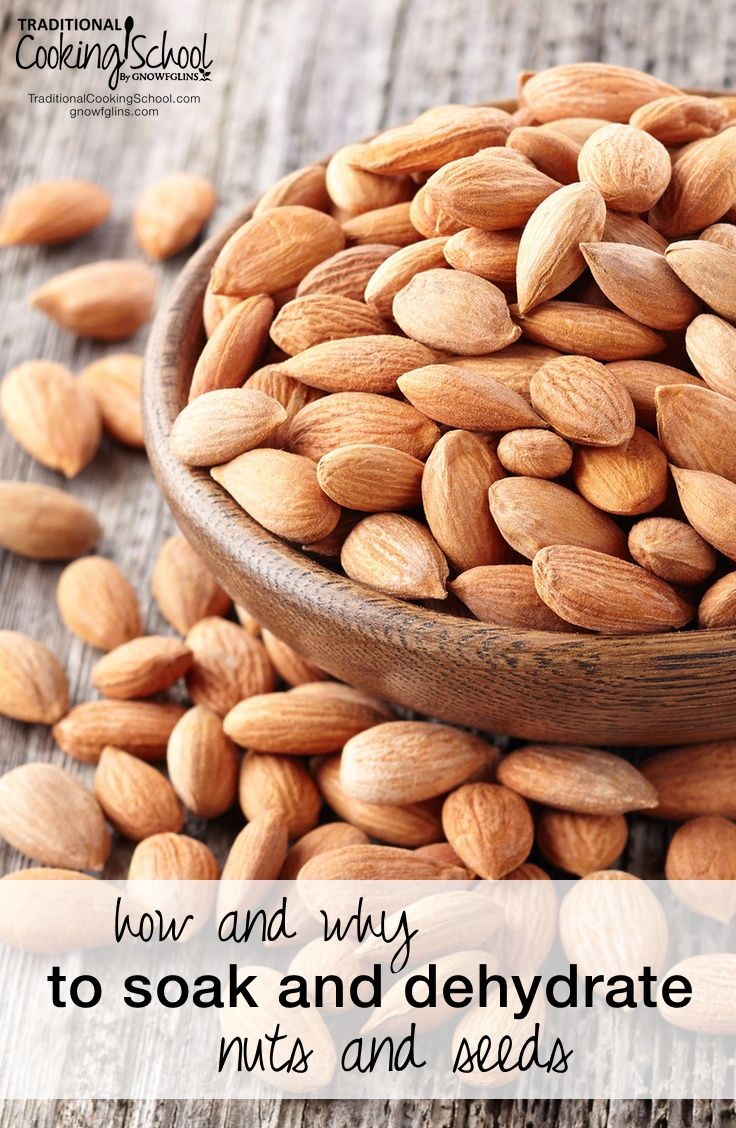 How And Why To Soak And Dehydrate Nuts And Seeds | Doyou feel like you could never possibly learn how to soak and dehydrate nuts and seeds? Is it really necessary? What are the benefits? I want to tell you two things: 1) You can do it! and 2) It is important! | TraditionalCookingSchool.com ✭★✭