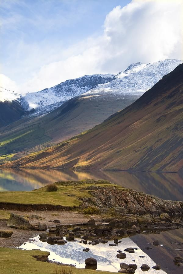 ✯ Mountains And Lake, Lake District, Cumbria, England, United Kingdom