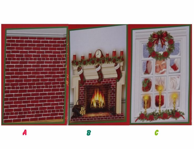 Perfect Christmas Wall Murals, Scene Setters, Photo Props, Door Covers, Party Decor  1pc Part 26