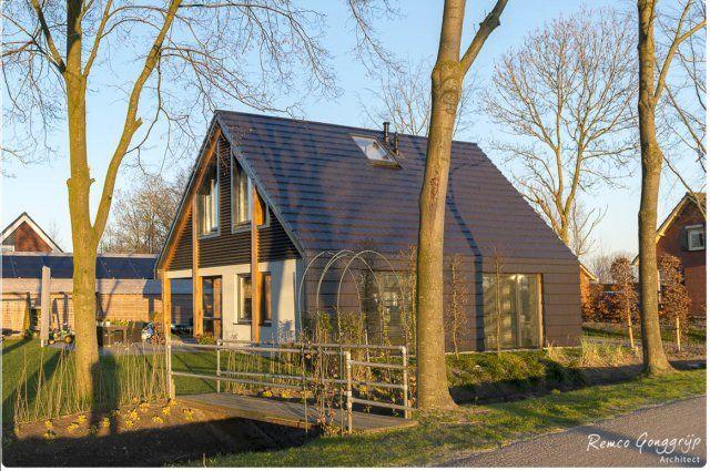 Rg Architect Paalwoning Huis Buitenkant Design Architecten