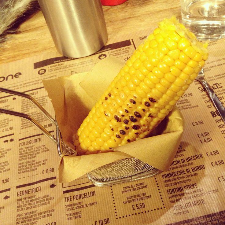 Una delle cose che ho sempre amato!!!  #mais #food #pannocchia #love