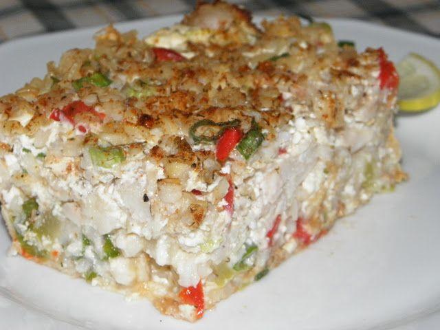 Karcsi főzdéje: Rakott tengeri halfilé zöldségekkel
