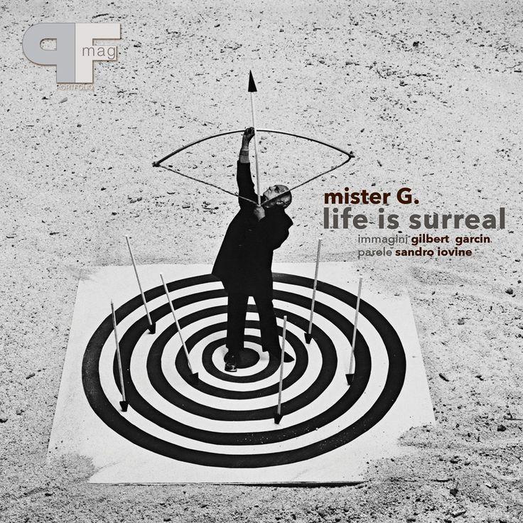 Mister G. life is surreal by Gilbert Garcin