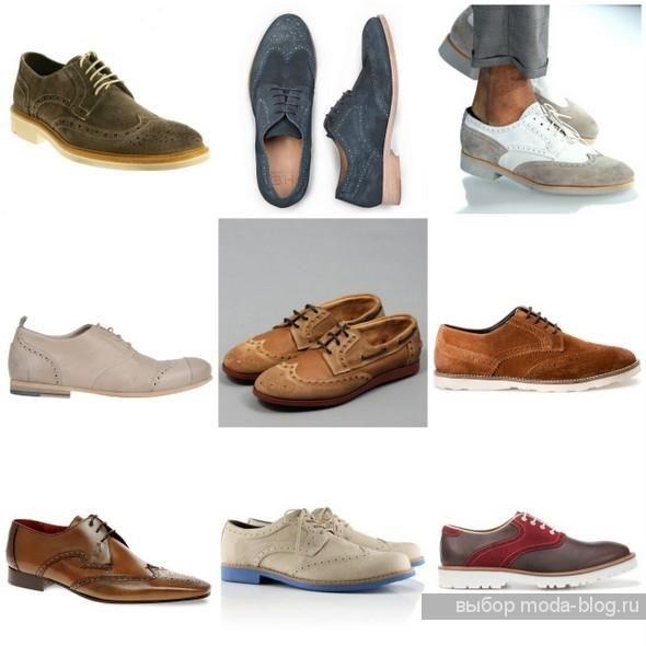 Лето мода в картинках показ обувь муж