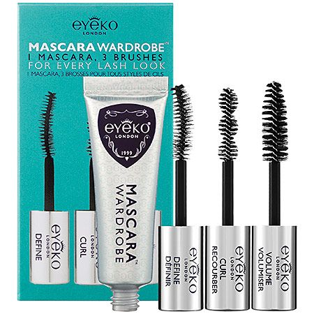 eyeko mascara wardrobe: perfect for all mascara junkies and anyone who likes to play around with different lash looks, depending on their mood and day of the week