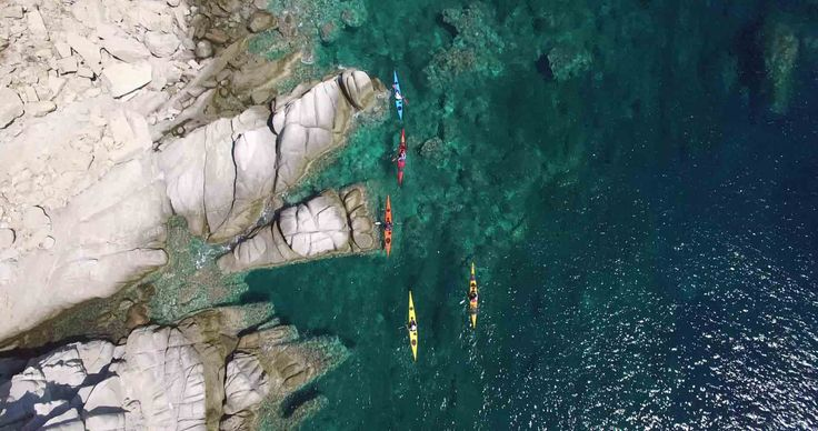 Thrilling Sea kayaking cannot only be found at the famous fjords but also at a warmer environment where the sun …
